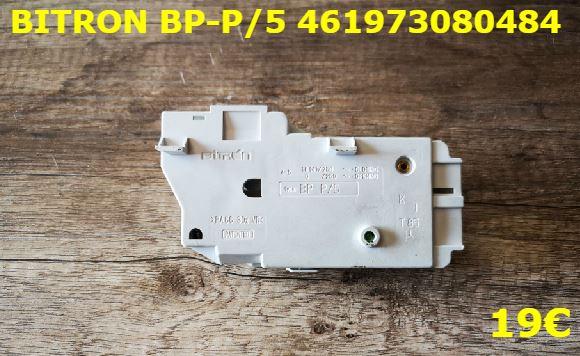 VERROU DE PORTE LAVE-LINGE : BITRON BP-P/5 461973080484