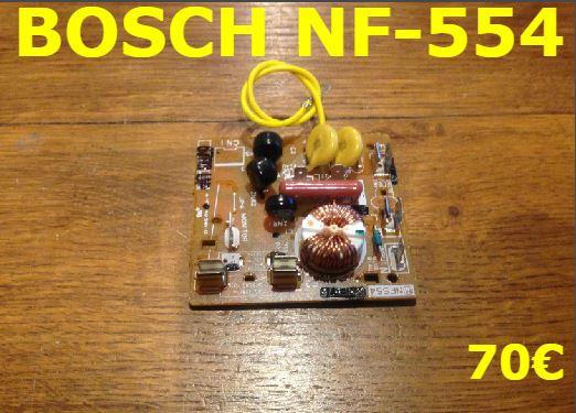 CARTE DE PUISSANCE FOUR MICRO-ONDES  : BOSCH NF-554