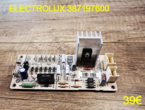 CARTE DE PUISSANCE FOUR : ELECTROLUX 387197600