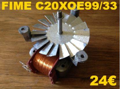 VENTILATEUR DE FOUR : FIME C20XOE99/33