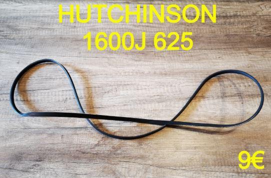 COURROIE LAVE-LINGE : HUTCHINSON 1600J625