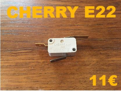 MICRO-SWITCH : CHERRY E22
