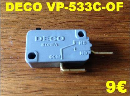 MICRO-SWITCH : DECO VP-533C-OF