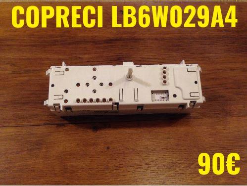 CARTE DE COMMANDE LAVE-LINGE : COPRECI LB6W029A4