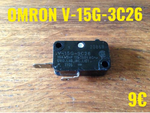 MICRO-SWITCH : OMRON V-15G-3C26