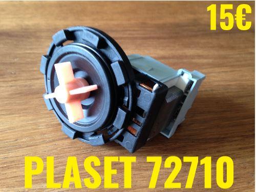 POMPE DE VIDANGE : PLASET 72710