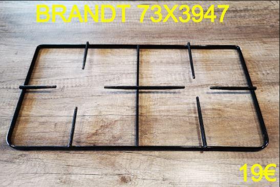 GRILLE TAQUE PLAQUE DE CUISSON : BRANDT 73X3947