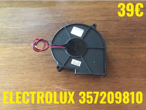 VENTILATEUR PLAQUE VITROCÉRAMIQUE :  ELECTROLUX 357209810