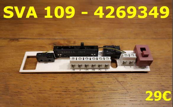 CARTE DE COMMANDE HOTTE : SVA 109 - 4269349