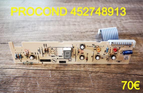 CARTE DE COMMANDE FRIGO : PROCOND 452748913