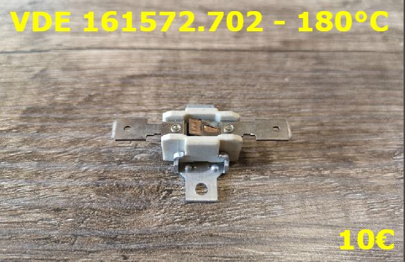 KLIXON : VDE 161572.702 - 180°C
