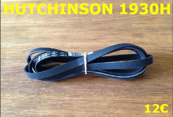 COURROIE SÈCHE-LINGE : HUTCHINSON 1930H