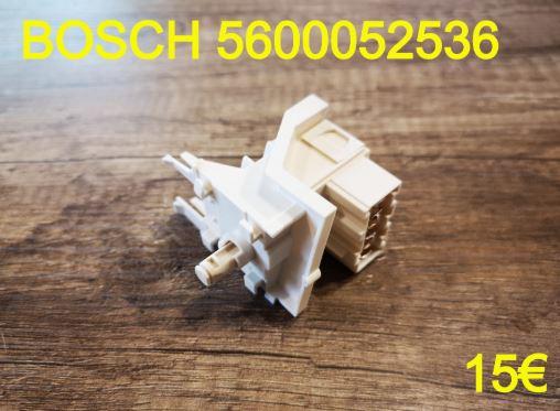 INTERRUPTEUR : LAVE-VAISSELLE BOSCH 5600052536