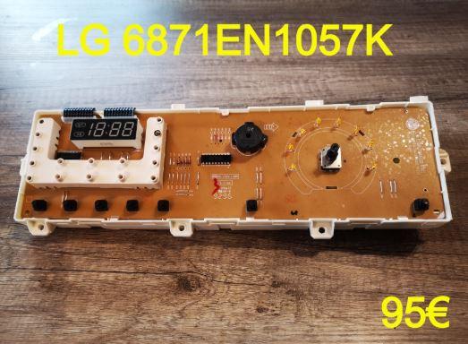CARTE DE COMMANDE LAVE-LINGE : LG 6871EN1057K