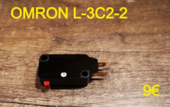 MICRO-SWITCH : OMRON L-3C2-2