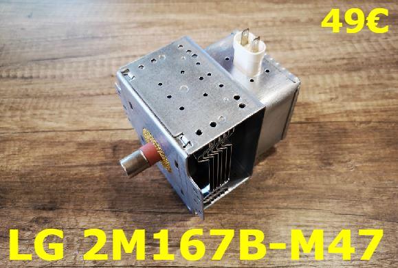 MAGNÉTRON FOUR MICRO-ONDES : LG 2M167B-M47