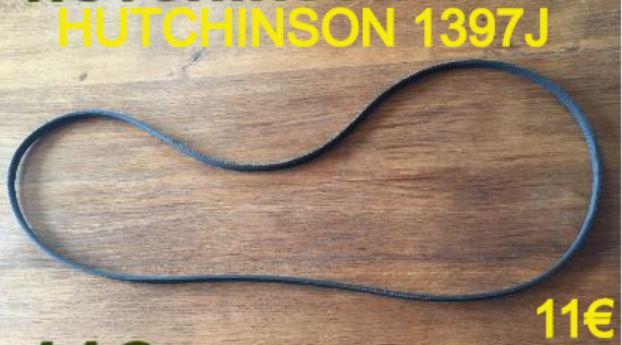 COURROIE LAVE-LINGE : HUTCHINSON 1397J