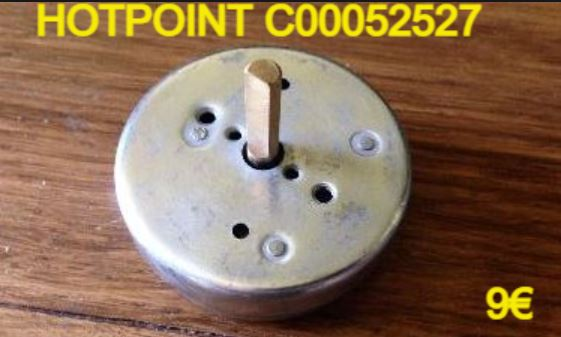 MINUTERIE DE CUISSON : HOTPOINT C00052527