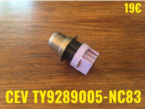 KLIXON : CEV TY9289005-NC83