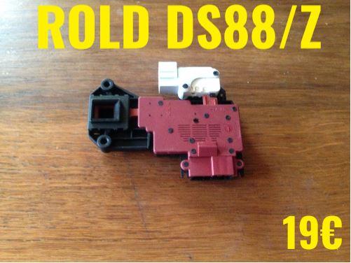 VERROU DE PORTE LAVE-LINGE : ROLD DS88/Z