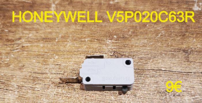 MICRO-SWITCH : HONEYWELL V5P020C63R