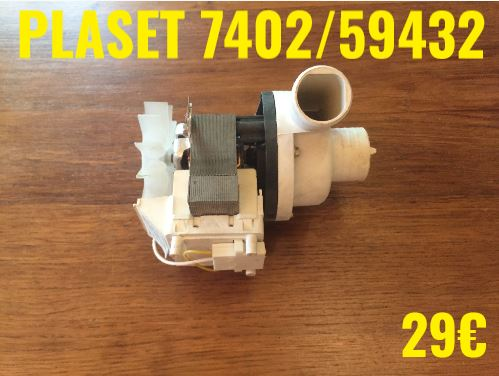 POMPE DE VIDANGE : PLASET 7402/59432