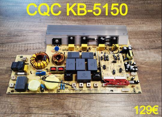 CARTE DE PUISSANCE PLAQUE VITROCÉRAMIQUE : CQC KB-5150