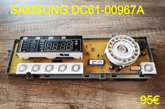 CARTE DE COMMANDE LAVE-LINGE : SAMSUNG DC61-00967A