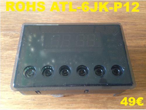 AFFICHEUR DE FOUR : ROHS ATL-6JK-P12
