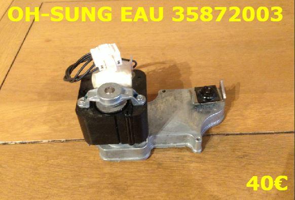 MOTEUR MACHINE A GLACE : OH-SUNG EAU35872003