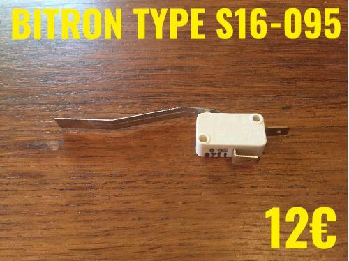 MICRO-SWITCH : BITRON TYPE S16-095 2 COSSES