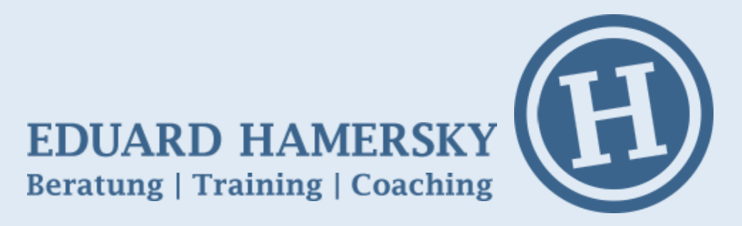 Eduard Hamersky - Beratung Training Coaching