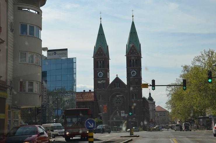 Basilika der Mutter der Barmherzigkeit in Maribor (SLO)