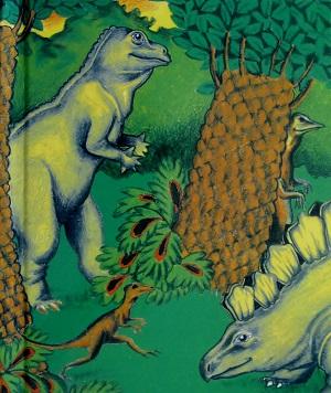 『恐竜の国での冒険』表紙
