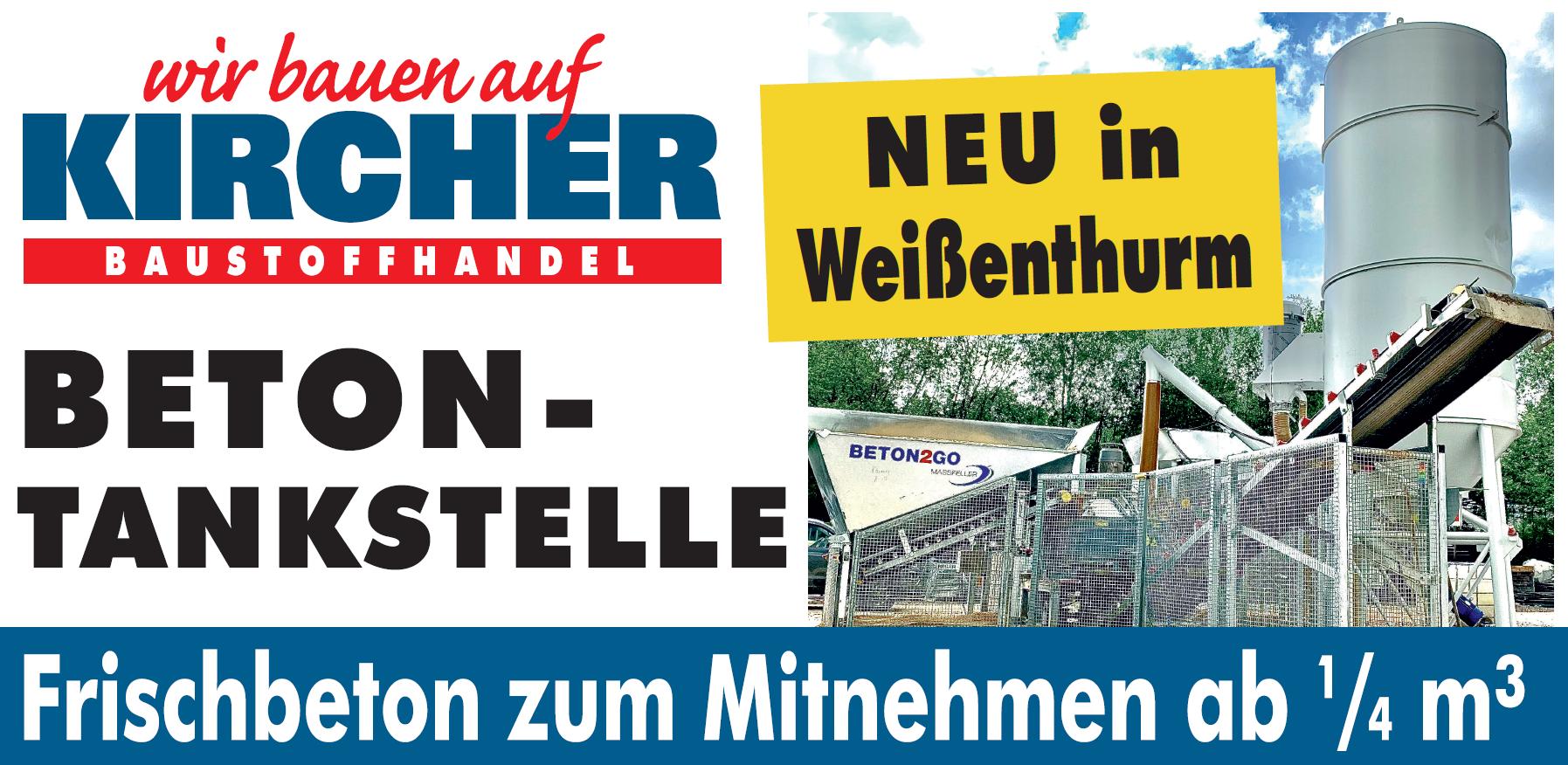 Neu: Betontankstelle in Weißenthurm