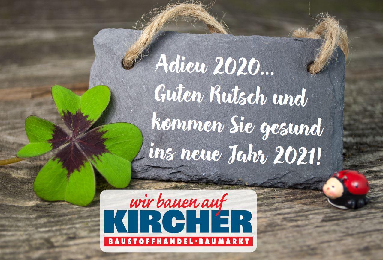 Adieu 2020!