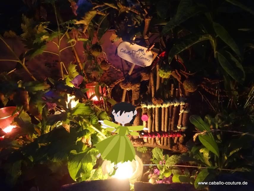 Kindergeburtstag, Basteln, DIY, Caballo Couture, Der Anderswald, von Rymon Müller; Elfentür selber basteln; Elfentür; Elfentür Garten; Garten; Kinderbuch; Bastelanleitung Elfentür