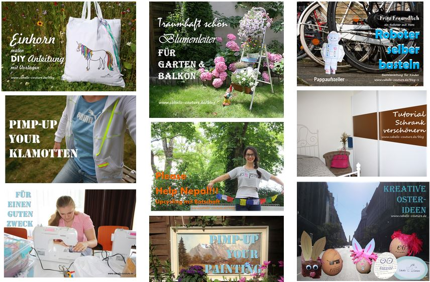 Caballo Couture; Kreativ Blog, Kreativblog, Bastelideen, Upcycling, Recycling