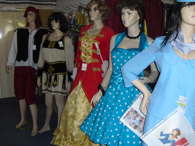 50er Jahre, Venezia, Römische Kostüme, Bauernkostüm