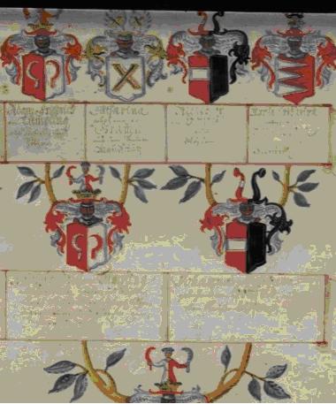 Ausschnitt aus der Aufschwörtafel des Hanns von Geusau, 09.09.1775 [48]