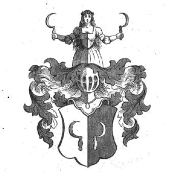 Abbildung: Wappen der Familie von Tümpling