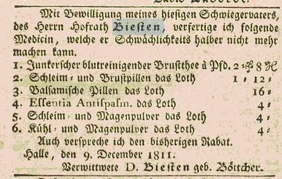 Hallisches Patriotisches Wörterbuch Jg 12. 14.12.1811 Seite 852