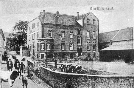 Barth`s Gut damals