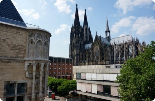 Penthouse-Apartment mit Domblick von Domapartment *** Cologne City