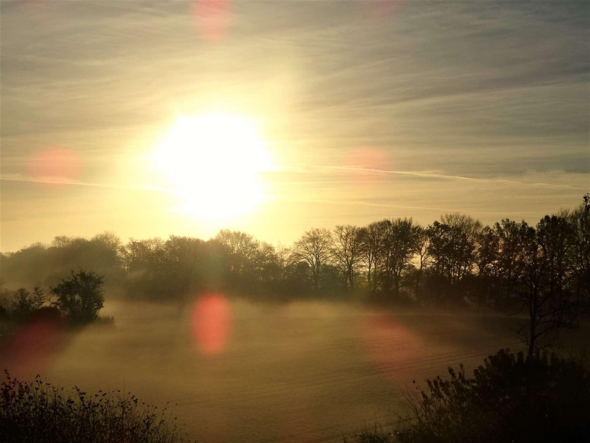 Ein Sonnenaufgang an der Schlei