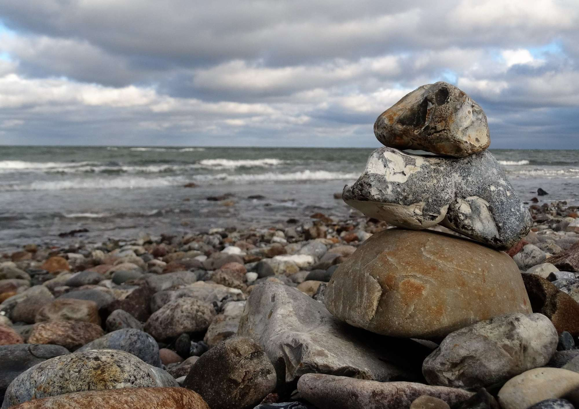 Urlaub an Ostsee und Schlei - Am Ostseestrand