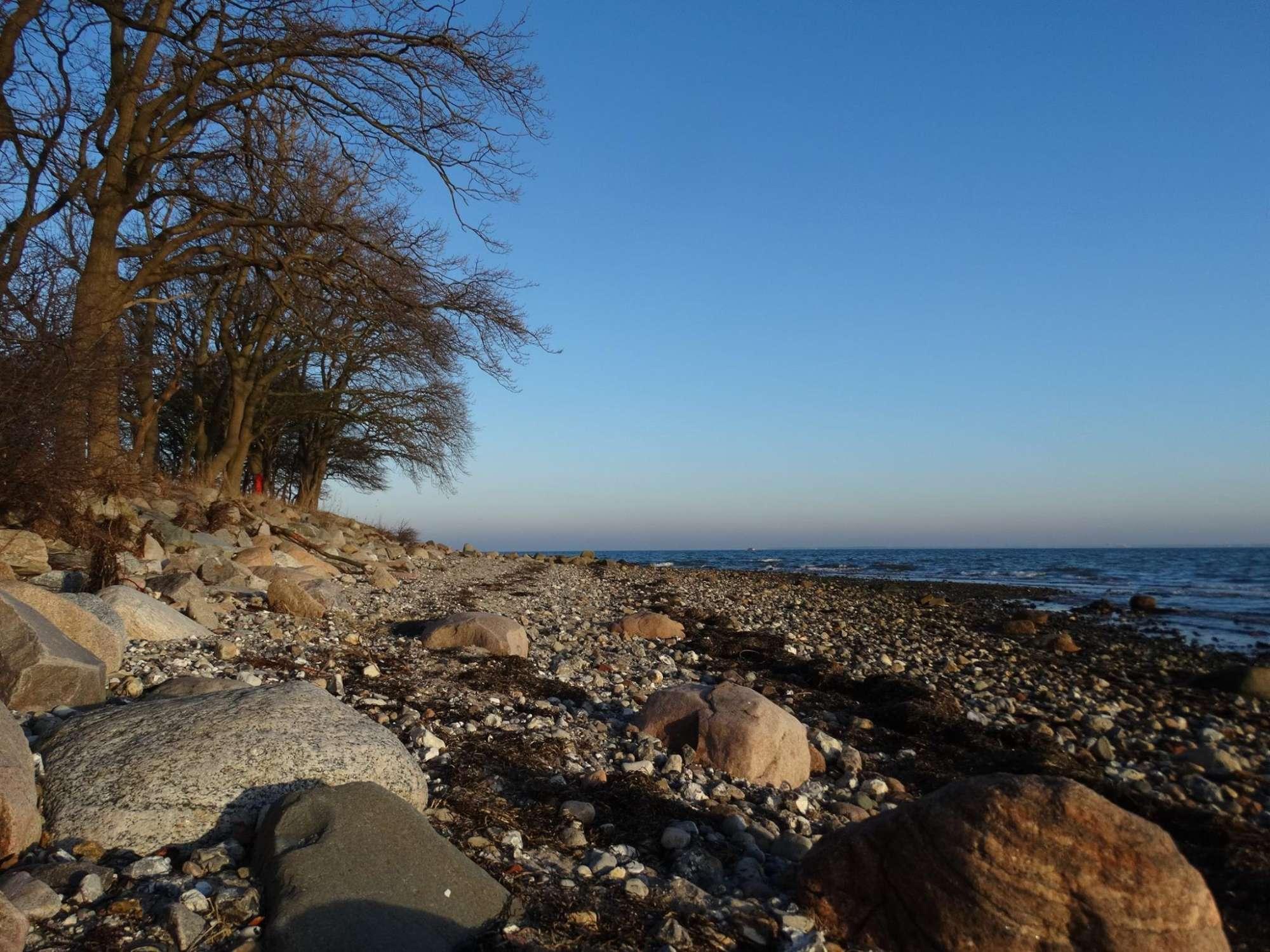 Die Ostsee ist auch im Winter schön