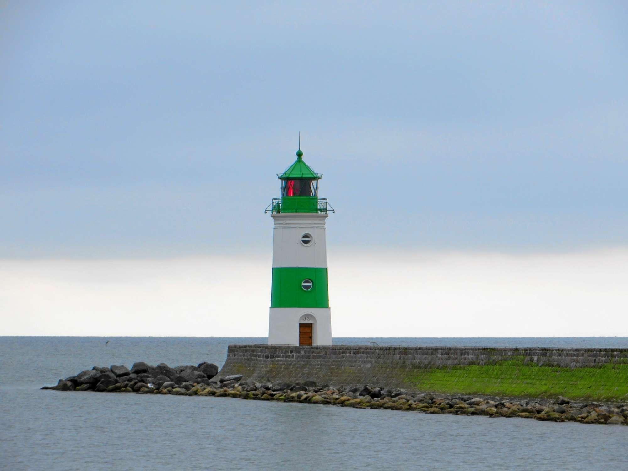 Urlaub an Ostsee und Schlei - Leuchtturm Schleimünde