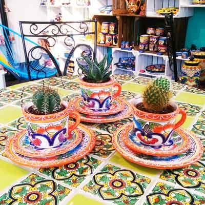 Dekoidee Kaktus in Tasse