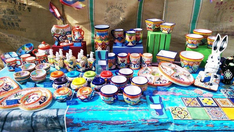 Bunte Keramik Deko Ideen aus Mexiko